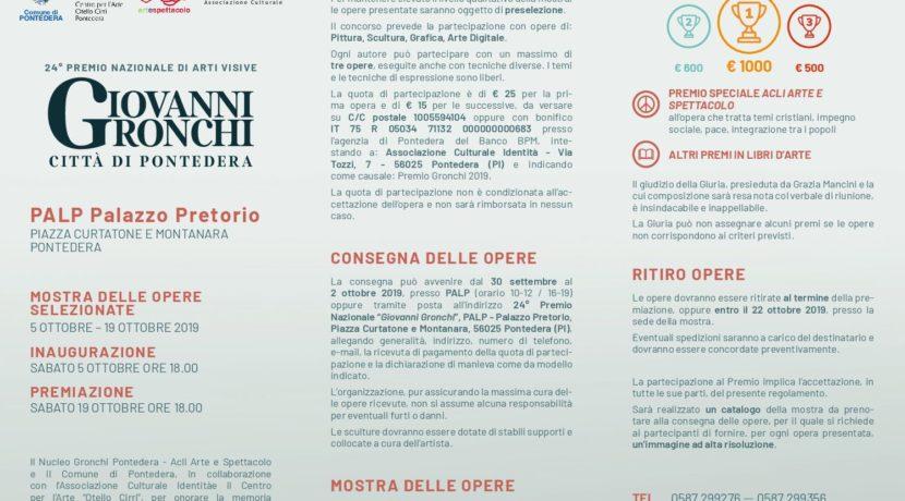 """24° premio nazionale di arti visive """"Giovanni Gronchi"""" città di Pontedra"""