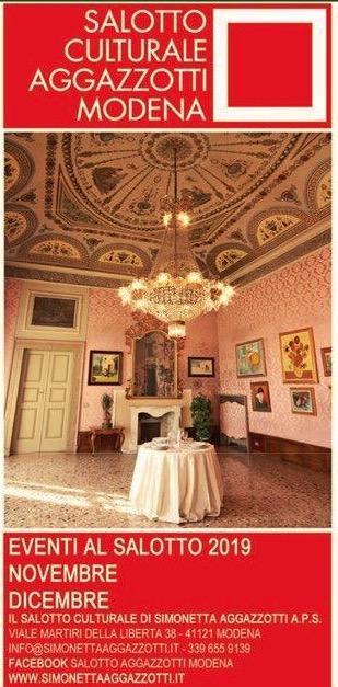 Gli eventi al SalottoAgazzotti Modena